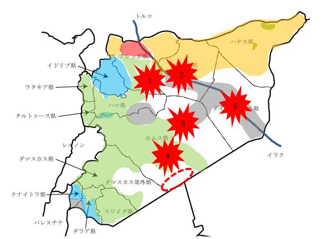 シリア:イラクとの国境地域の緊張が高まる | 公益財団法人 中東調査会